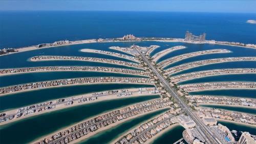 """""""L'île-palmier"""" de Dubaï, la nouvelle merveille du monde"""