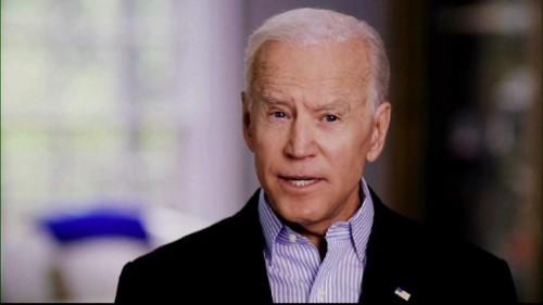 Joe Biden candidat à la Maison-Blanche