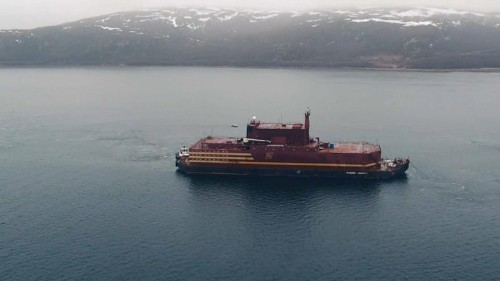 Russia raises its Arctic profile with arrival of floating nuclear power plant