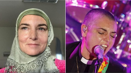 Sinéad O'Connor: Irish singer becomes a Muslim