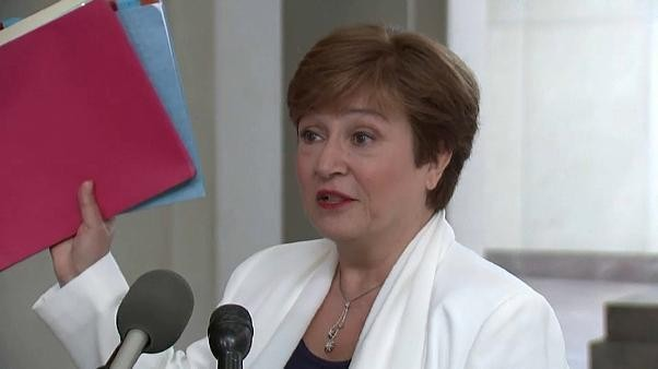 Bulgarin Kristalina Georgiewa neue IWF-Chefin