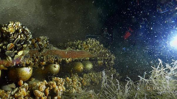 Attention danger, des obus dorment dans le lac Léman