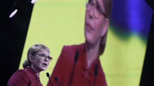 44 candidates are running for president of Ukraine: two are called Y.V. Tymoshenko