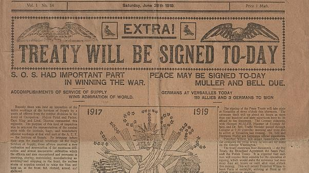 Treaty of Versailles centenary: Relics tell story of historic signing