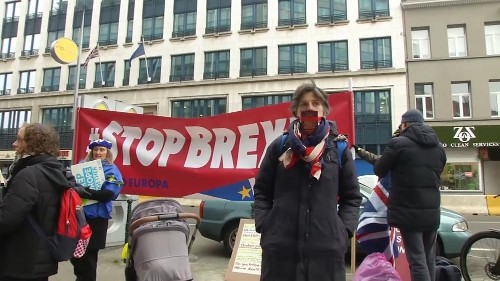 Mit umgedichtetem Lennon-Song: EU-Beamte protestieren gegen Brexit
