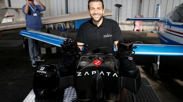 Franky Zapata fails to cross the English Channel with 'flyboard'