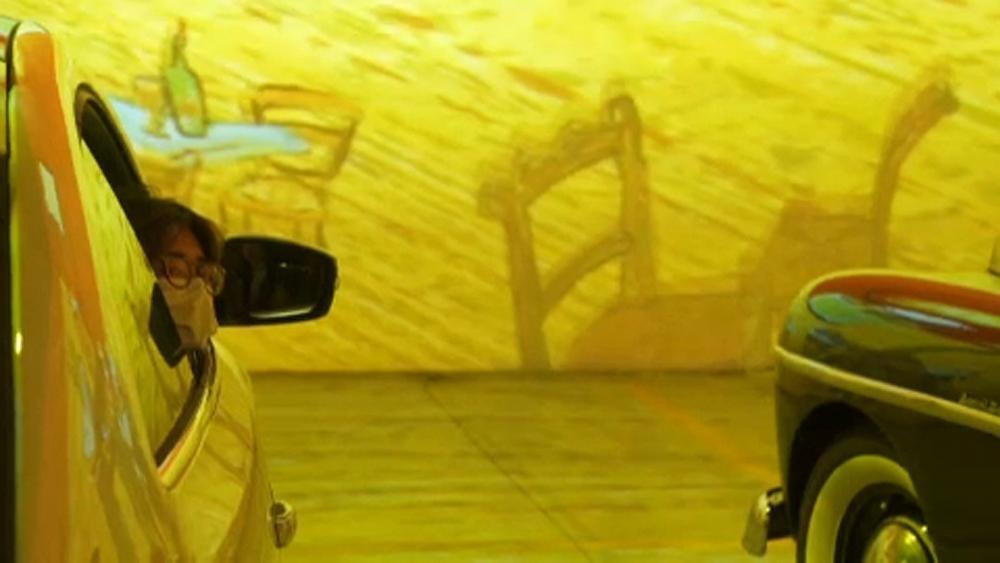 Van Gogh mit sicherem Abstand: Drive-In-Austellung in Toronto