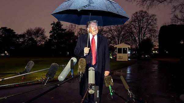 'Liars!': Trump fires off post-Christmas tweetstorm over impeachment impasse