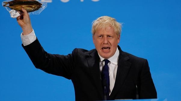 EU debunks Boris Johnson's fishy claims about food regulation