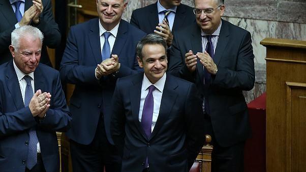 158 zu 142 Stimmen: Parlament spricht Mitsotakis Vertrauen aus