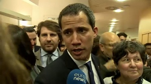 Juan Guaidó: Venezuela's opposition leader in Brussels to revive support for tougher sanctions