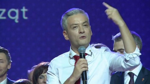 Poland's first openly gay politician launches pro-EU party, the Spring Party