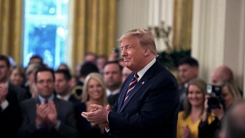 Trump celebrates acquittal, denounces 'vicious' opponents in post-impeachment insult blitz