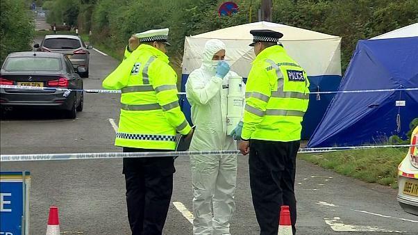 UK policeman murder investigation: Police search caravan site