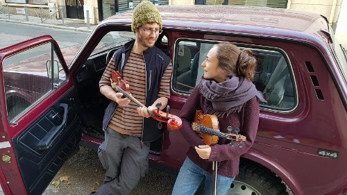 French music duo travels from France to the Caucasus to soak up the musical tradition