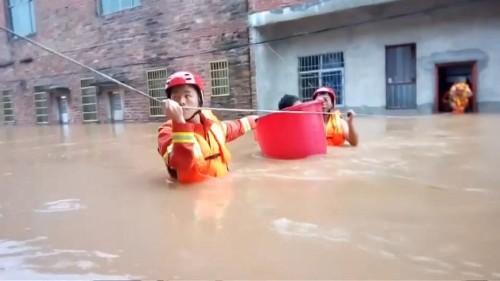 China sofre o impacto da época das monções