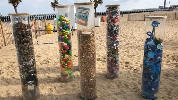More plastic than fish: beach cleanup highlights Europe's plastic problem