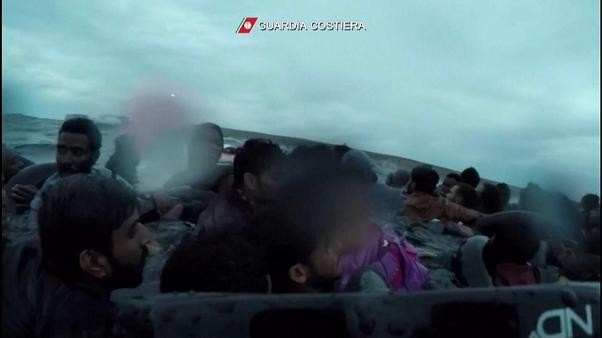 Watch: Dramatic footage shows diver rescuing baby girl from frozen sea