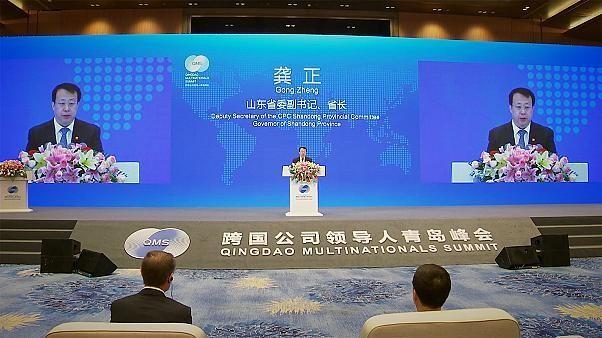 Qingdao-Gipfeltreffen: Geschäftsportal nach China
