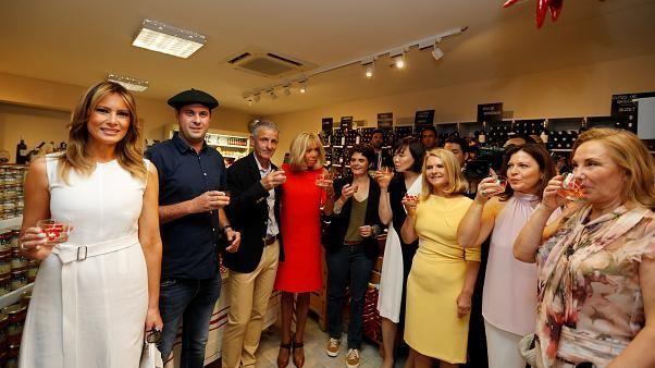 G7 Zirvesi için Fransa'da bulunan First Lady'lere Bask kültürü turu