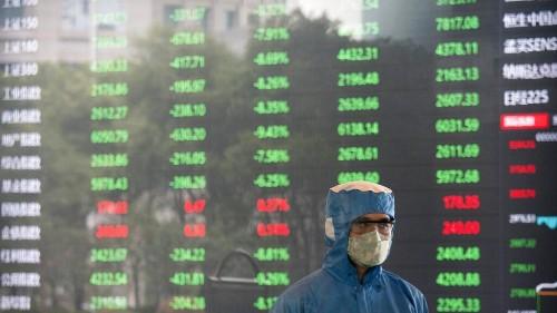 Coronavirus: Chinas Märkte brechen um 9 Prozent ein