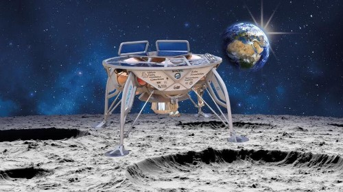 Israel to take 'digital bible' to space as it becomes fourth country to land on the Moon