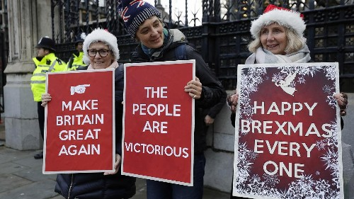 Light shows, coins... but no bong: How Britain is marking Brexit on January 31