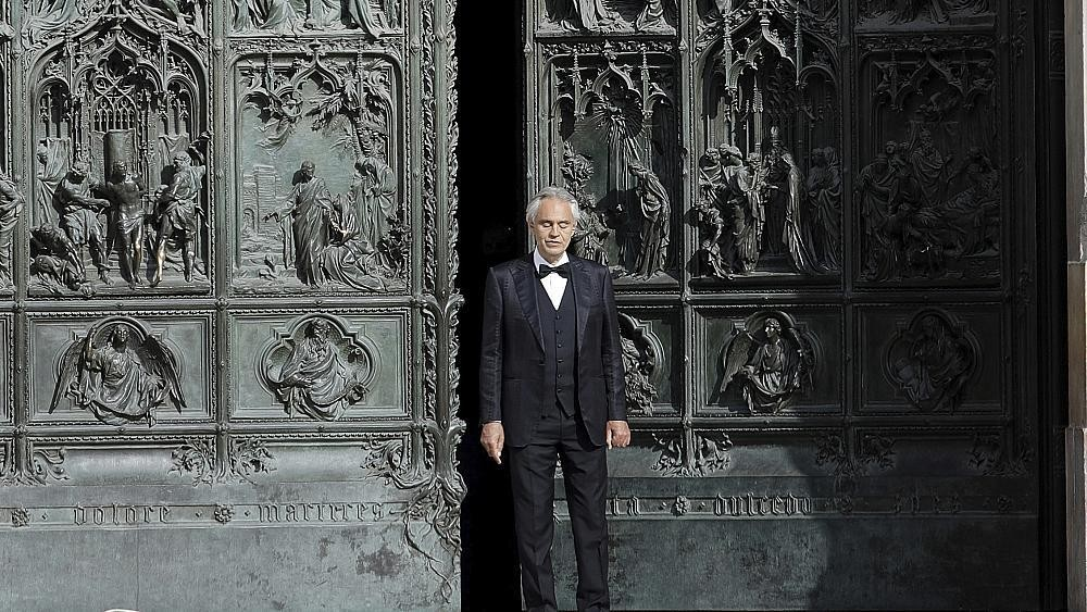 Easter: Andrea Bocelli performs in empty Milan cathedral amidst coronavirus lockdown