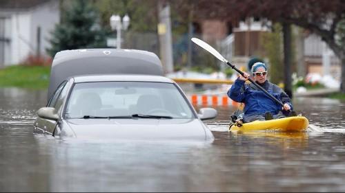 Schwere Überschwemmungen in Québec