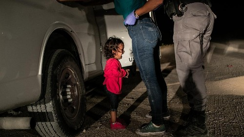 """La niña llorando en la frontera"" ganadora del World Press Photo 2019"