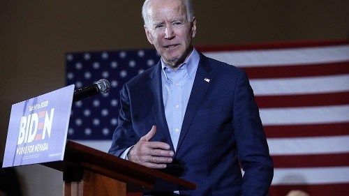 Biden calls on Sanders to take accountability for supporters' threats