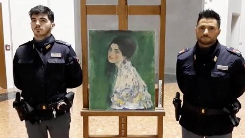 Volé en 1997, ce tableau de Klimt retrouvé par un jardinier