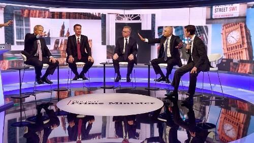 Candidatos conservadores participam em debate televisivo