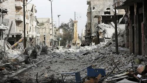 Syria war: 6 years; 5 million refugees; 400,000 dead