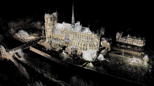Unique 3D model of Notre Dame cathedral could help reconstruction efforts