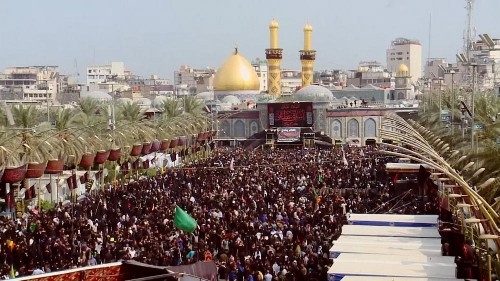 Millions march in Shiite pilgrimage and Peruvians parade