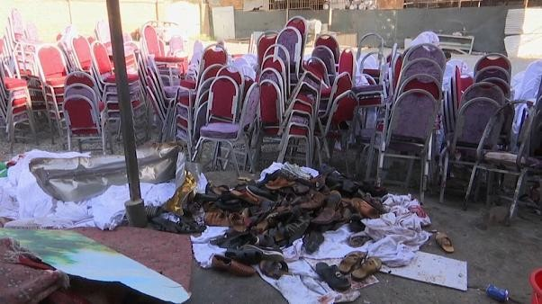 Bomb blast at Kabul wedding party kills 63 people and injures 182 others