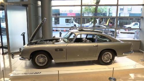 James Bond's Thunderball sports car up for auction