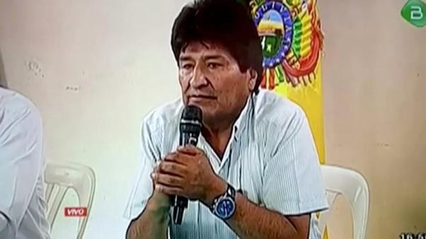 Former Bolivian President Morales accepts political asylum in Mexico