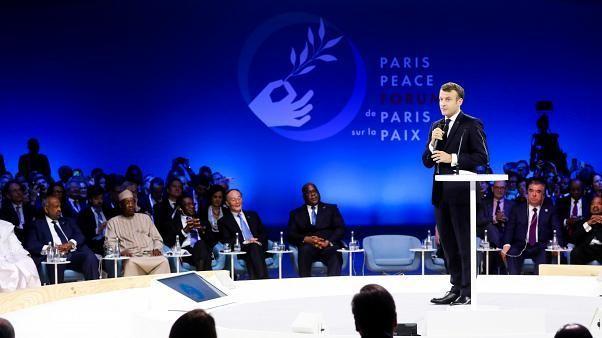 Paris Peace Forum: Macron attacks 'hypocrisy' over NATO criticism