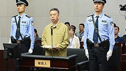 Chine : l'ancien patron d'Interpol condamné à 13 ans et demi de prison