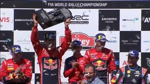 WRC : Sébastien Ogier relance le championnat