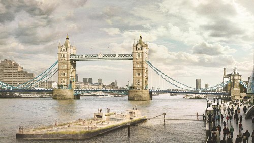 A new floating pool on the Thames is about to become a reality