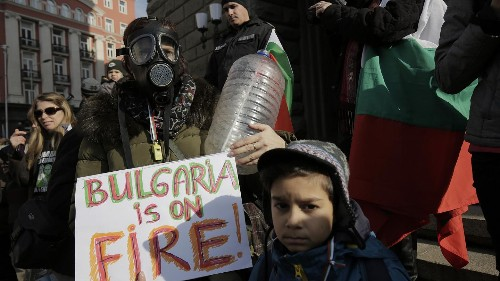 Bulgaria: Residents in Pernik protest about water shortages