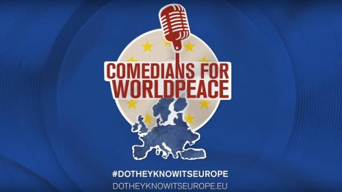 Watch: Comedians poke fun at European countries ahead of elections