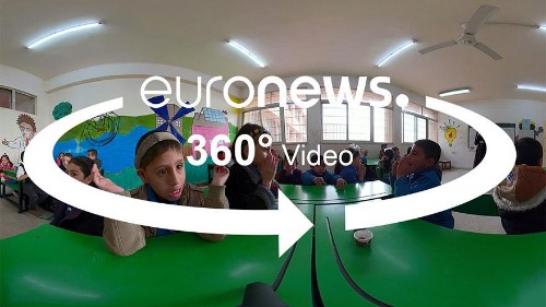 360° tour inside a Jordanian inclusive school