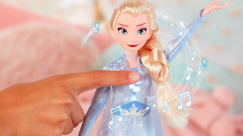 Frozen 2's eco message overshadowed by sale of plastic toys