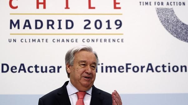 COP25 in Madrid: UN Secretary-General Guterres says planet is 'close to a point of no return'