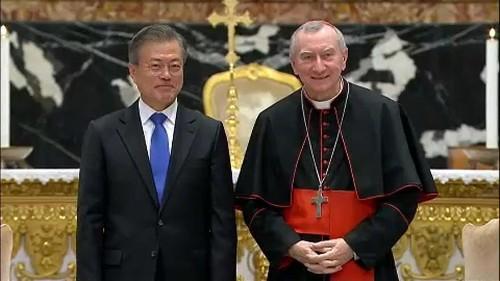 Le pape François invité en Corée du Nord
