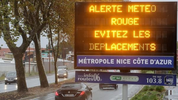 Extreme weather kills five in southern France, including three rescue workers